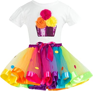 Bestow Trajes de Falda de Fiesta Conjuntos Chica Color Flor ...