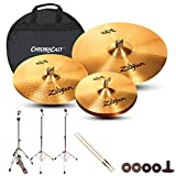 Zildjian Complete Cymbal Set with Hardware & Accessories