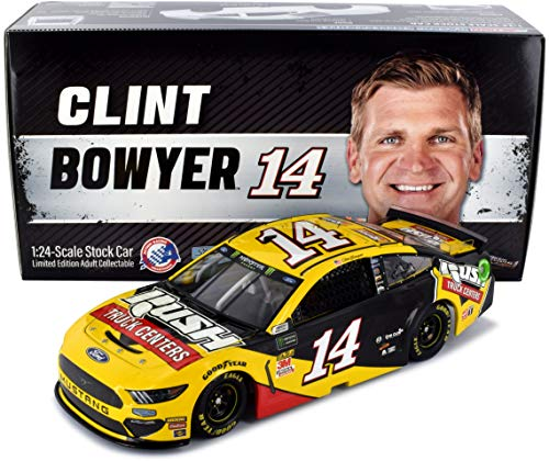 Lionel Racing Clint Bowyer #14 Rush Trucks 2019 Ford Mustang NASCAR Diecast 1:24 Scale