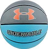 Under Armour Undeniable Basketball, Light Blue/Grey, Size 7