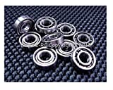 (10 PCS) MR52 (2x5x2 mm) Metal OPEN PRECISION Ball Bearing