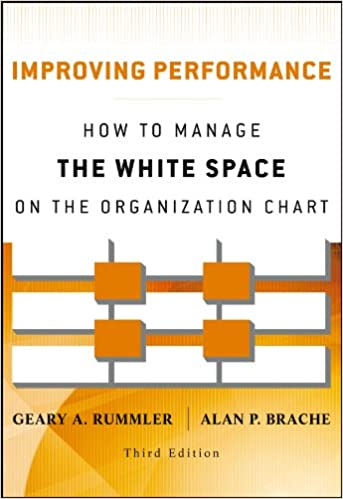 Improving Performance How to Manage the White Space in the Organization Chart