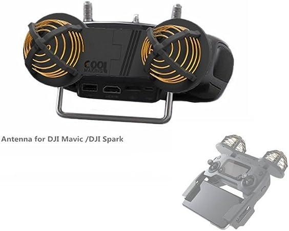 Hensych® Antena Amplificador de señal Range Booster Para DJI Mavic Pro/DJI Spark Drone (gama 7 – 10 km)