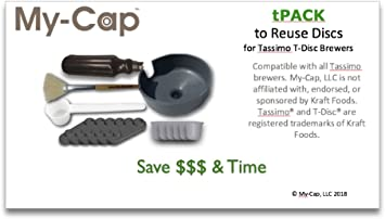 Amazon.com: My-Cap TPACK - Solución completa para hacer sus ...