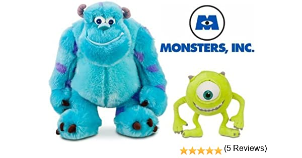 Disney Store Exclusive Monsters Inc. Plush Doll Set Featuring 13 ...