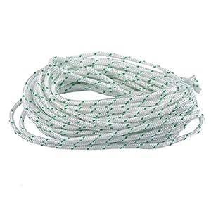 ITACO 5.5MM , 16.4FT (5Meters) Mylon Starter Rope Pull Cord Diameter STIHL HUSQVARNA ECHO HOMELITE McCulloch 5m