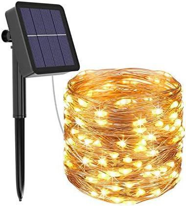 1 Pack] Guirnaldas Luces Exterior Solar, Litogo Luces Led Solares ...