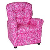 Small Paisley Kids Recliner