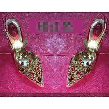 Glitter Las 3 CN38 De 5 Wedding 3A US7 5 Azul UK5 Boda Fucsia Pulg EU38 Verano Verde RTRY 4 Shoes Tul Casual Negro Mujeres'S 3 Confort XdXTwq