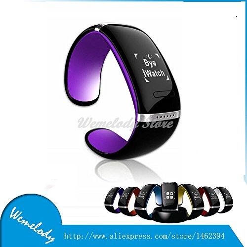 ARBUYSHOP Relojes Inteligentes 2015 L12S Bluetooth elegante pulsera de la pulsera para los teléfonos iPhone Samsung Android dispositivos portátiles reloj de ...
