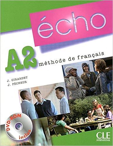 Téléchargement Echo A2 : Mthode de franais (1DVD) pdf ebook