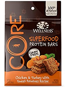 Amazon.com : Wellness CORE Superfood Protein Bars Natural
