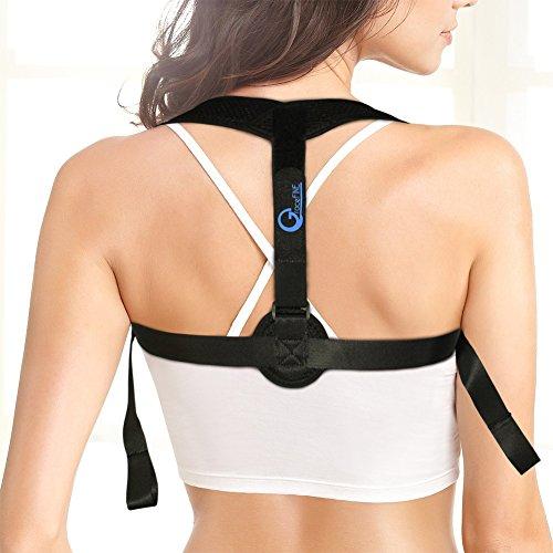 Back Posture Corrector for Women & Men, Back Ad...