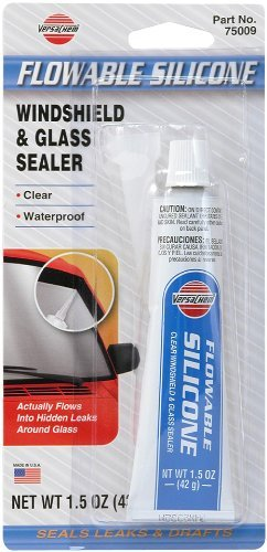 ITW Devcon 75009 6 Pack 1.5 oz. Flowable Silicone Windshield & Glass Sealer by ITW Devcon