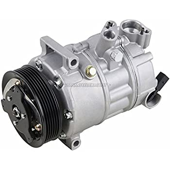 AC Compressor & A/C Clutch For VW Jetta Golf GTI Passat Eos Tiguan Audi A3 TT - BuyAutoParts 60-02038NA New
