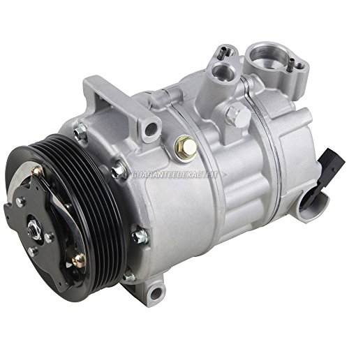 AC Compressor & A/C Clutch For VW Golf GTI Jetta Passat CC New Beetle Eos Tiguan R32 Audi A3 Q3 TT A4 Allroad Quattro - BuyAutoParts 60-02038NA New (Vw Ac Compressor)