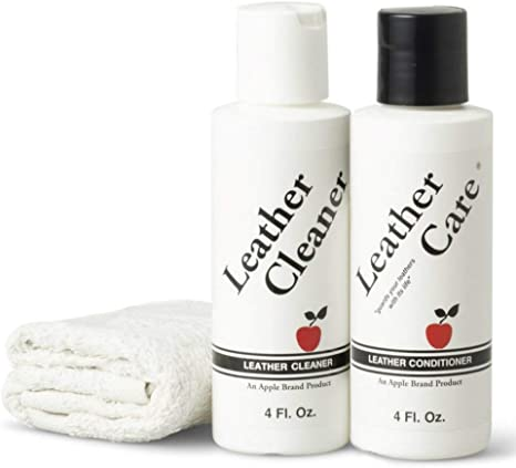 Amazon Com Apple Brand Leather Cleaner Conditioner Kit For