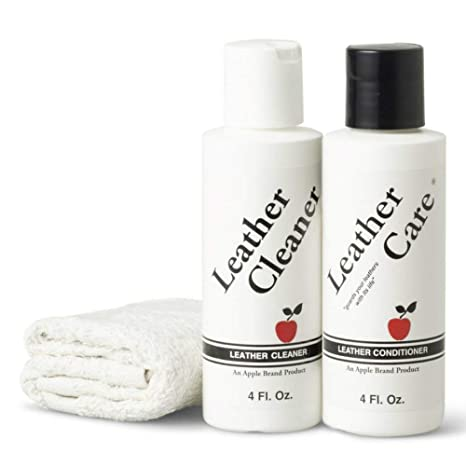 Image Unavailable. Image not available for. Color  Apple Brand Leather  Cleaner   Conditioner Kit ... 298470c44f001