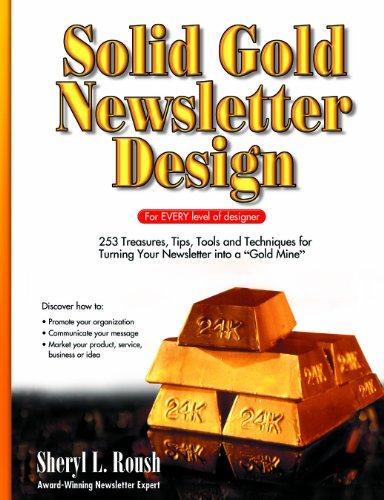 Solid Gold Newsletter Design - Solid Pr Gold