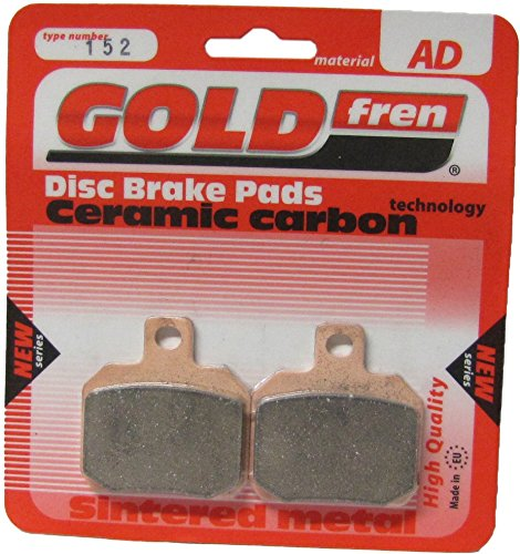 Yamaha YP 125 R X-Max 2006-2013 Brake Disc Pads Goldfren Pair Europe Disc Front /& Rear Rear Right