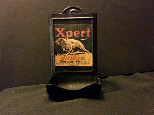 (Vintage Style Western Shotgun Shell Tin Matchbox Holder....Artist Handcrafted)