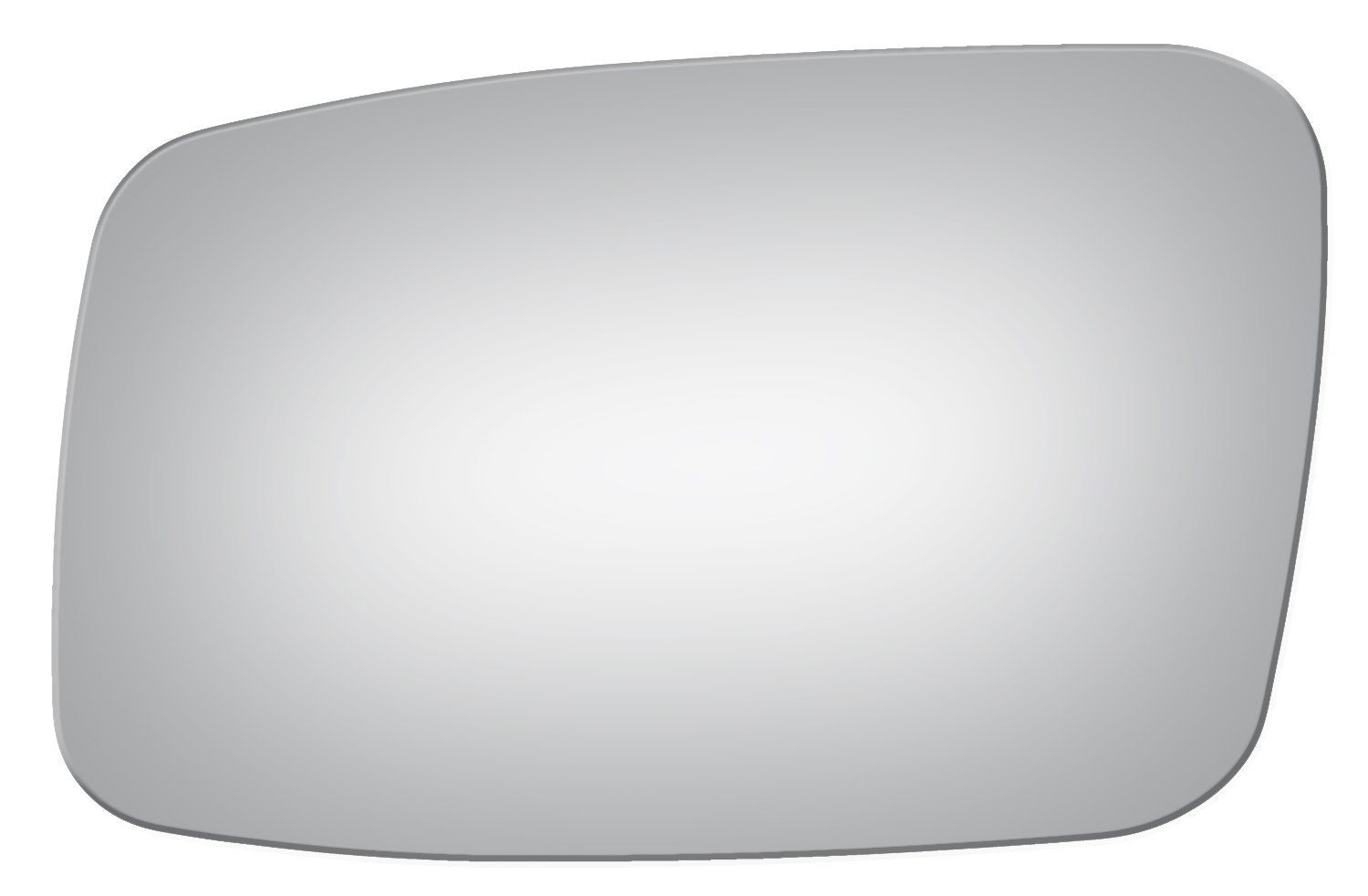 Burco 2851 Flat Driver Side Replacement Mirror Glass for Volvo 850, C70, S40, S70, V40, V70 (1993, 1994, 1995, 1996, 1997, 1998, 1999, 2000, 2001, 2002, 2003, 2004)