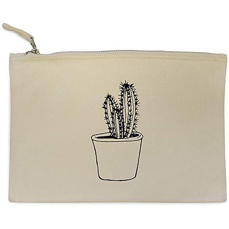 Azeeda Cactus Bolso de Embrague / Accesorios Case (CL00013580)
