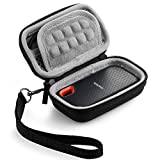 Caseling Hard Case for SanDisk 250GB 500GB 1TB 2TB Extreme Portable SSD Carrying Travel Bag