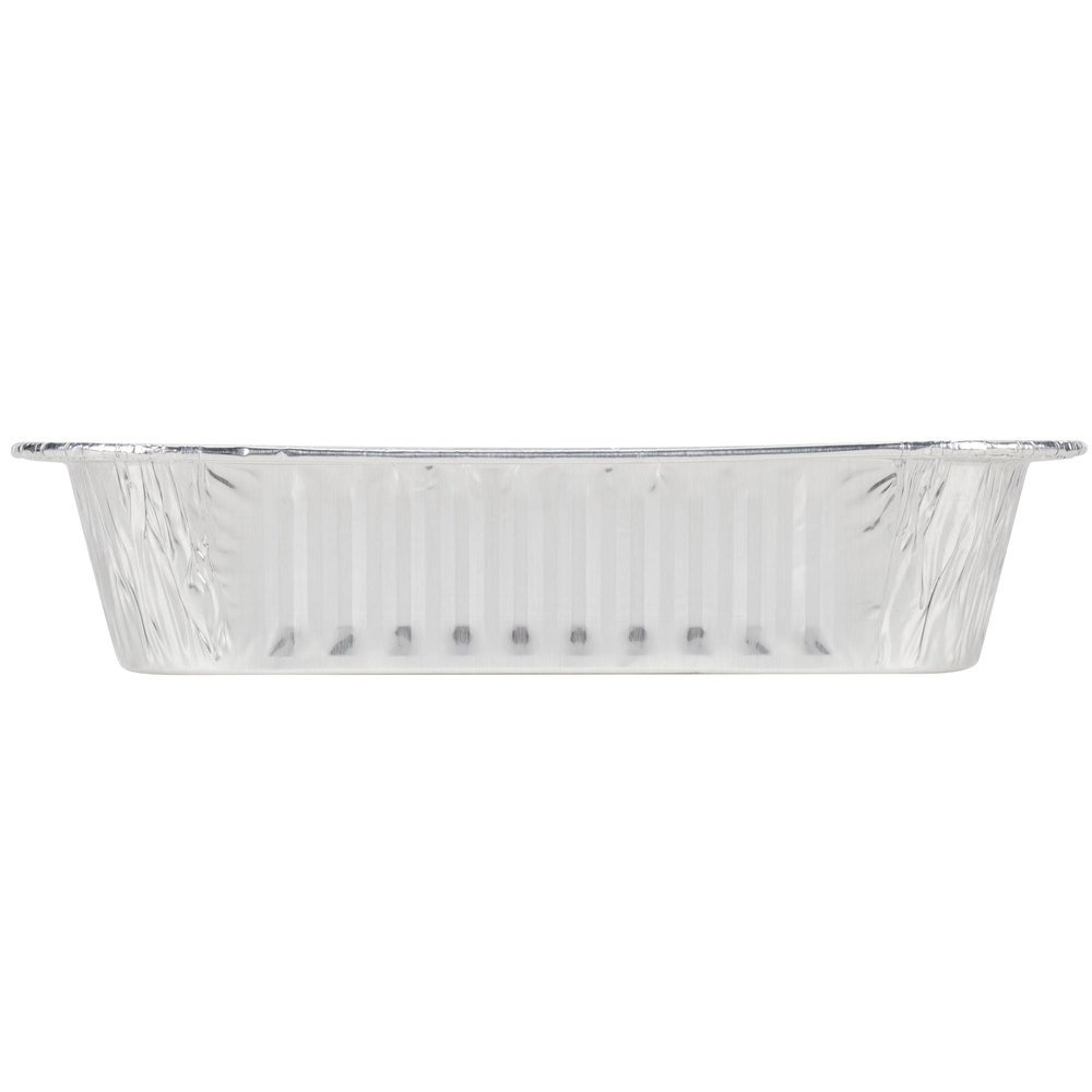Durable Packaging Disposable Aluminum Square Cake Pan, 8'' x 8'' x 1-3/4'' (Pack of 500) by Durable Packaging (Image #3)