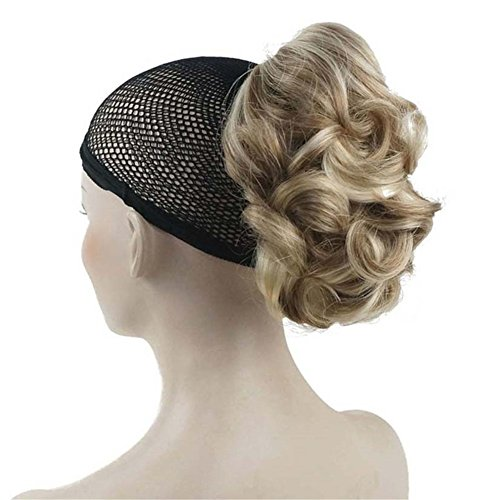 Aimole Lady Short Curly Claw Clip-on Hair Ponytail Hairpiece