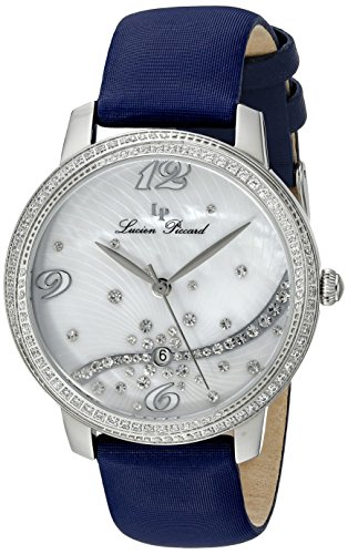 Lucien Piccard Women's LP-16520-02S-NBSS Mirage Analog Display Japanese Quartz Blue Watch