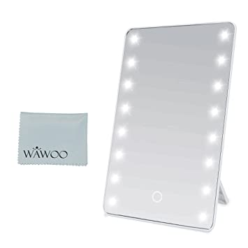 Specchi Professionali Per Trucco.Wawoo Specchio Per Il Trucco Con Illuminazione A Led Dimmerabile Con