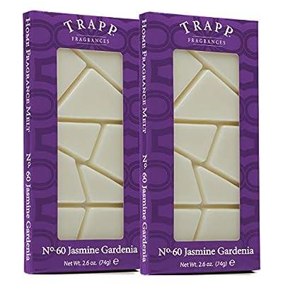 Trapp Home Fragrance Wax Melts - No. 60 Jasmine Gardenia, 2.6 oz (2 Pack)