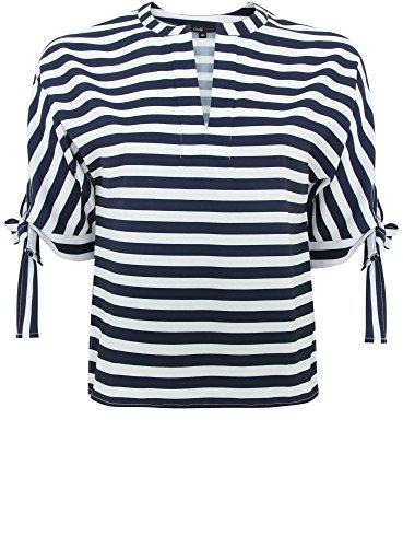 Femme Collection Bleu Marin Style oodji Rayures Chemisier 7912s TFwUn6gqx