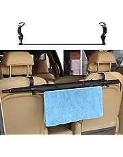 KMMOTORS Comfy Car Umbrella Holder Back Seat Organizer Car Hooks Headrest Hook, Seat Hanger Storage for Umbrella, Towel…