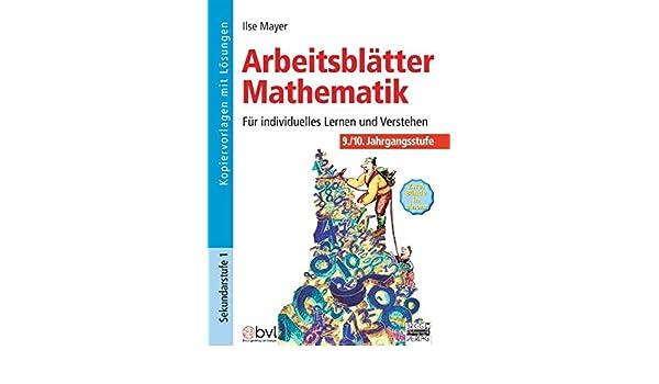 Arbeitsblätter Mathematik 9./10. Klasse: 9783871012624: Amazon.com ...