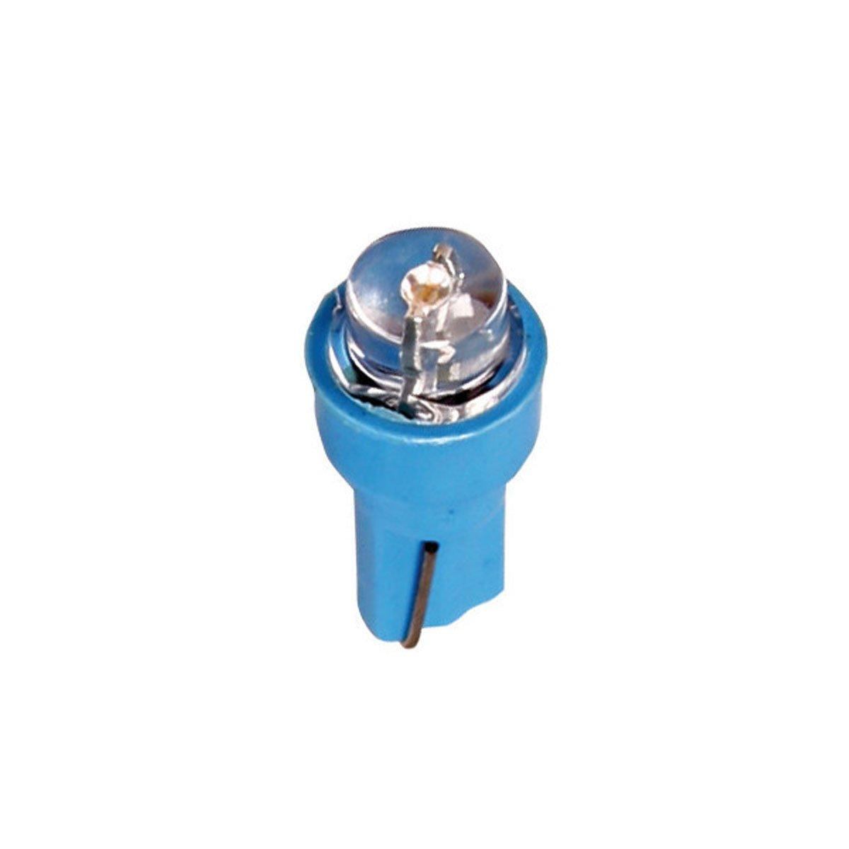 LAMPA - 12V Kit Lampade cruscotto 1 Led - (T5) - W2x4, 6d - 5 pz - D/Blister - Bianco Pilot LA_58484