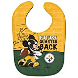 Pittsburgh Steelers Mickey Mouse Future Quarter Back All Pro Baby Bib