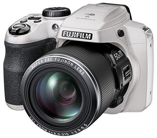 Fujifilm FinePix S9400W / S9450W - 16.2 Megapixel CMOS, 50x Zoom, WiFi Digital Camera with 3.0-Inch LCD Display - White (Renewed)
