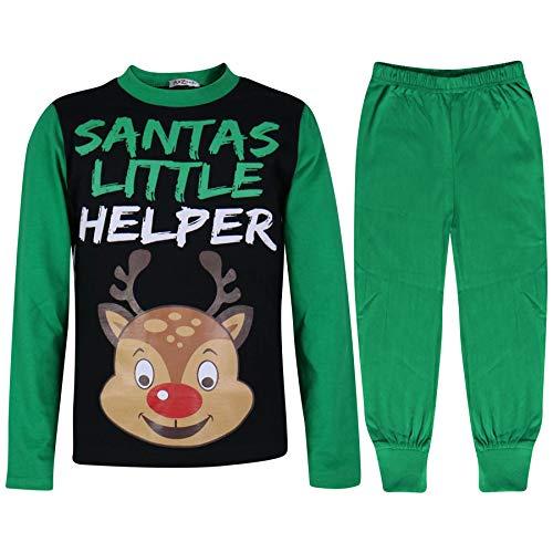 A2z Rudolph os os 6 Chicas Ya Ni 12 9 Ni Impreso 10 Falthy 8 13 os 7 Edad Pj's Green de os Pijamas 4 Ni 11 A 5 Navidad pITxrp