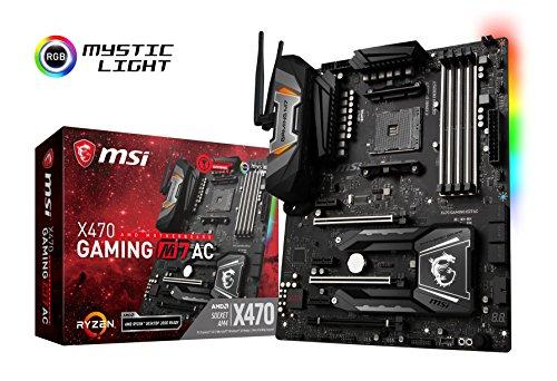 PLACA MAE MSI AMD X470 GAMING M7 AC 64GB(AM4) DDR4 - X470 GAMING M7 AC MSI, X470 GAMING M7 AC, Placas-Mãe