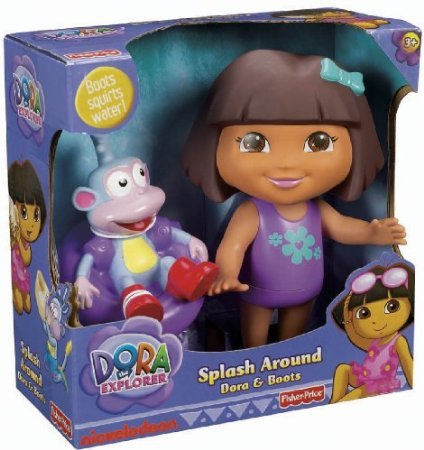 Fisher-Price Dora The Explorer Splash Around Dora and Boots by Jubujub