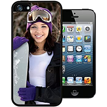 iPhone 5 / 5s / SE PixCase - Create Your Own Custom Case - Personalize It Yourself – Insert photos or create custom designs online and change anytime - Shock absorbing case with picture window