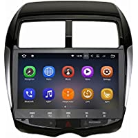 SYGAV Android 7.1.1 Nougat Car Stereo 2G RAM for 2010-2012 Mitsubishi ASX Radio 10.2 Inch Touch Screen GPS Sat Navigation Audio FM AM LCD Monitor Head Unit