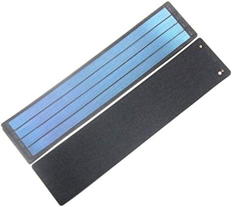 SODIAL 2W 6V flexibles Solarzellen-amorphes Silikon-faltbares Solarmodul DIY Solarladegeraet fuer 3.7v super duennes wasserdichtes 1 Stueck