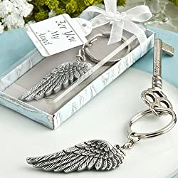 Angel wing key chain favors [SET OF 48]