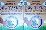 Cheap Trader Joe's Natural Dog Treats – Peanut Butter (Two 24 Oz Packages)
