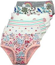 Cczmfeas Girls Kids Toddler Hipster Briefs Super Soft 100% Cotton Underwear Panties