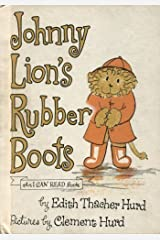 Johnny Lion's Rubber Boots (An I CAN READ book) Hardcover