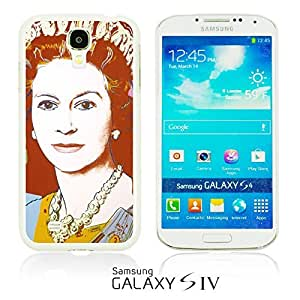OnlineBestDigitalTM - Celebrity Star Hard Back Case for Samsung Galaxy S4 IV I9500 / I9505 - Queen Elizabeth II Pop Art